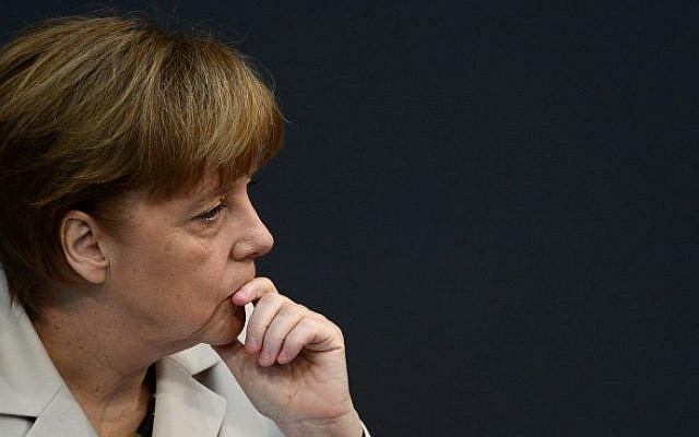 German Chancellor Angela Merkel (AFP/John Macdougall)