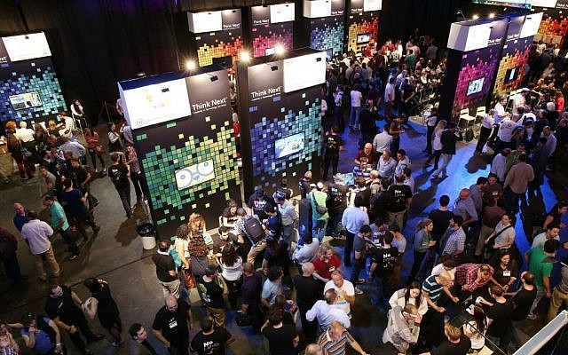 Microsoft's Think Next event (Photo credit: Courtesy)