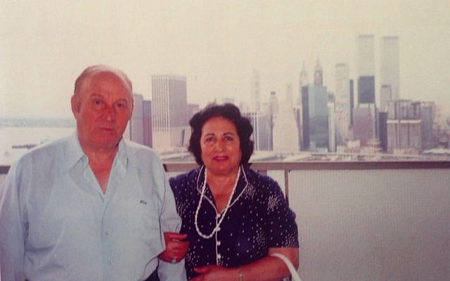 Mohammed Elakkad and Souad Zaki during their years in New York. (Courtesy of Moshe Zaki)