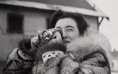Ruth Gruber, Alaska, 1941-43 (Unidentified photographer, courtesy)