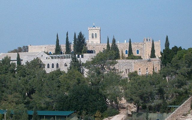 Beit Jimal monastery (photo credit: CC BY  Wikipedia)
