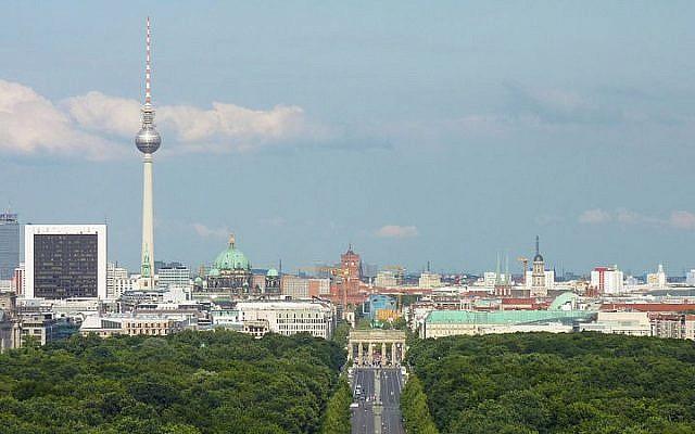Berlin skyline (photo credit: Lotse/Wikimedia Commons/File)