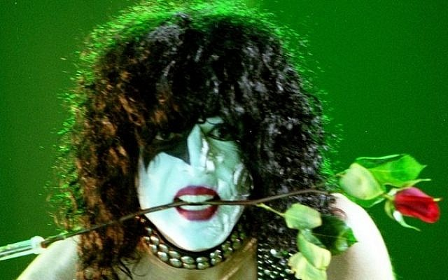 Paul Stanley performs with KISS in 2003 (photo credit: Adam Bielawski/PRPhotos)