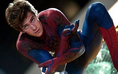 Andrew Garfield, star of 'The Amazing Spider-Man 2'