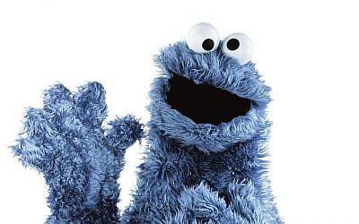 Sesame Street character Cookie Monster (photo credit: AP/Sesame Workshop)