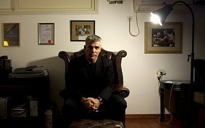 Yair Lapid (photo credit: Oded Balilty/AP)