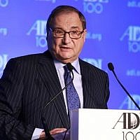 Abraham Foxman (photo credit: David Karp/JTA)