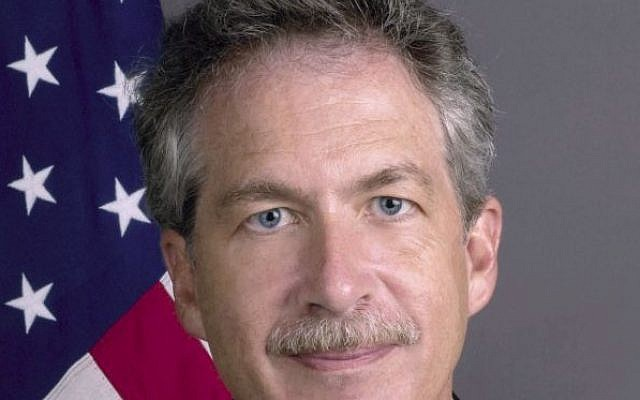 US Deputy Secretary of State William (Bill) Burns. (photo credit: US State Department)