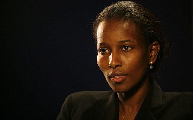 Ayaan Hirsi Ali in 2007. (photo credit: AP/Shiho Fukada)