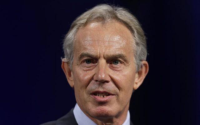 Former British prime minister Tony Blair. (AP/Matt Rourke)