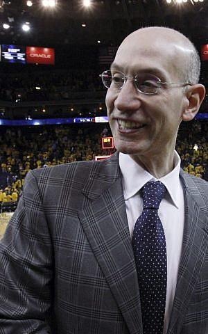 NBA commissioner Adam Silver (photo credit: AP/San Francisco Chronicle, Carlos Avila Gonzalez)