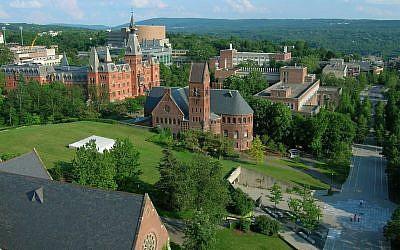 Cornell University (photo credit: Wikimedia Commons/CC SA 2.0)