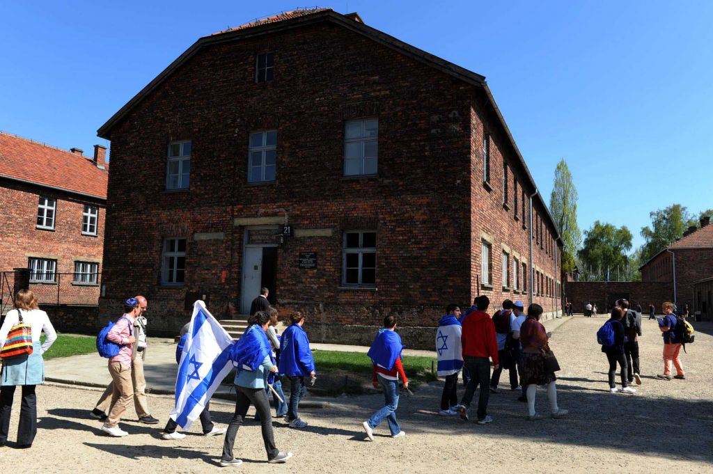 All Israeli high school students have the opportunity to visit Poland with their schools, in order to understand the events of the Holocaust in the summer (photo credit: Moshe Milner/GPO/Flash 90)