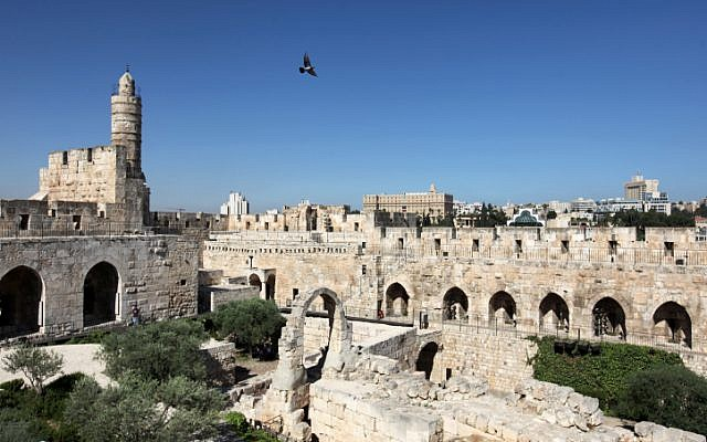 The Tower of David in Jerusalem's Old City, June 16, 2011. (photo credit: Kobi Gideon / Flash90)