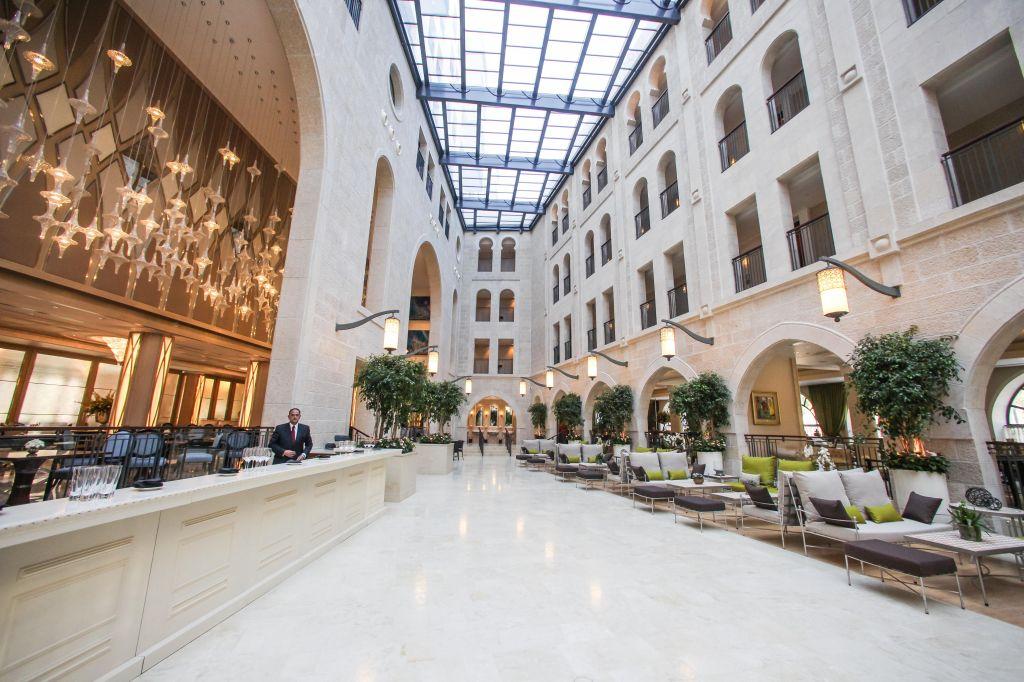 The Waldorf Astoria Hotel On Jerum S Agron Street Photo Credit Flash90