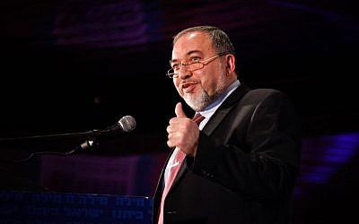 Foreign Minister Avigdor Liberman (photo credit: Flash90)
