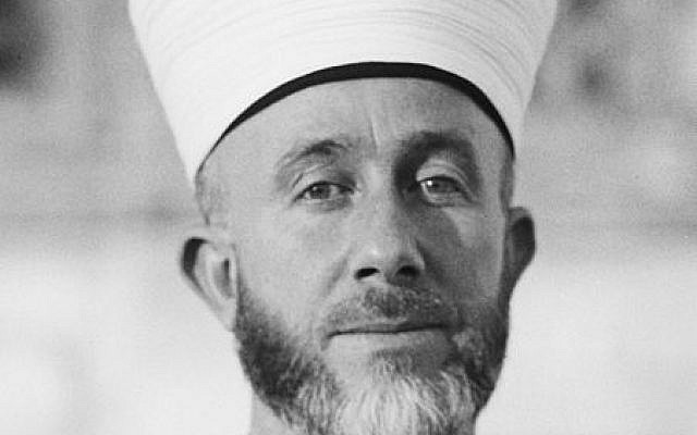 Haj Amin al-Husseini (American Colony Photo Dept./Wikipedia)