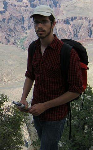 Israeli student Avinoam Edry (photo credit: courtesy/Avinoam Edry)