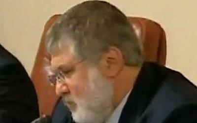 Igor Kolomoisky (photo credit: Wikipedia/ Справедливість Повна версія)