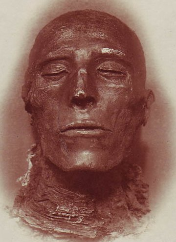 Pharaoh_Seti_I's mummy (photo credit: Emil_Brugsch via Wikimedia Commons)