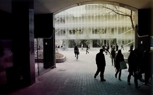 Ryerson University in Toronto (screen capture: YouTube)