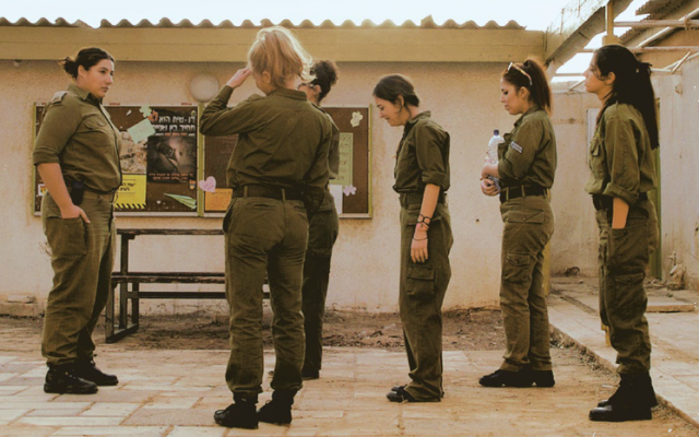 Commanding Officer Rama (Shani Klein) addresses her inept squad. (courtesy: Match Factory)