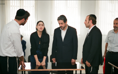'Gett: The Trial of Viviane Ansalem' makes its debut at the Cannes Film Festival in France in May 2014. (courtesy: Films Distribution)