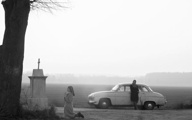 Agata Trzebuchowska and Agata Kulesza co-star in Polish film 'Ida,' a mesmerizing meditation on identity. (courtesy: Music Box Films)