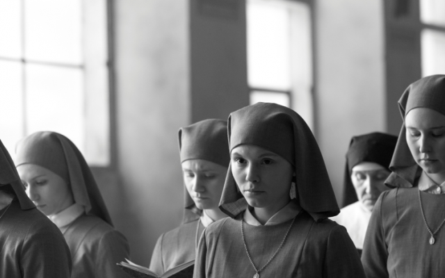 Young nun Anna is about to get a big surprise in Pawel Pawlikowski's film 'Ida.' (Courtesy: Music Box Films)