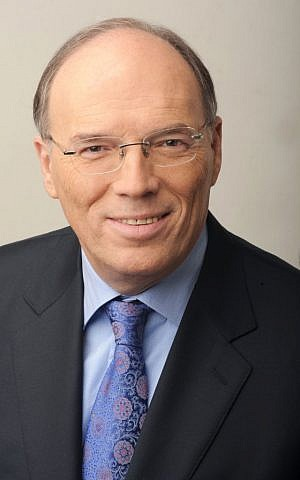 Shmuel Schnitzer. chairman of the Israel Diamond Institute (Courtesy IDE)