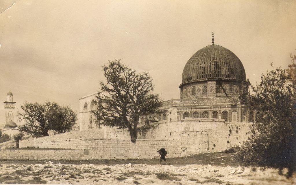 The Dome of the Rock on Jerusalem's Temple Mount (undated) (photo credit: © DEIAHL, Jerusalem)