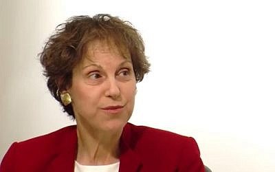 Economist and academic Anat Admati, 2013. (screen capture: YouTube/INETeconomics)