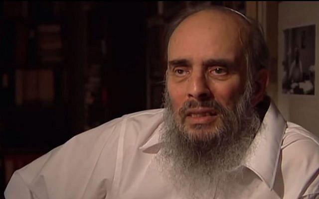 Jacob Birnbaum, founder of the Student Struggle for Soviet Jewry. (screen capture: Youtube/Mordechai Tokarsky)