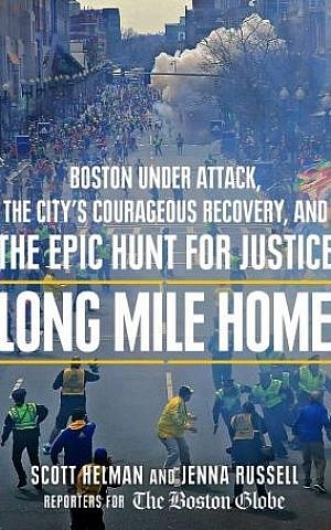 Published two weeks ago, 'Long Mile Home' is about individual survivors' quest to recover following last year's Boston Marathon bombings. (photo courtesy: Jenna Russell)