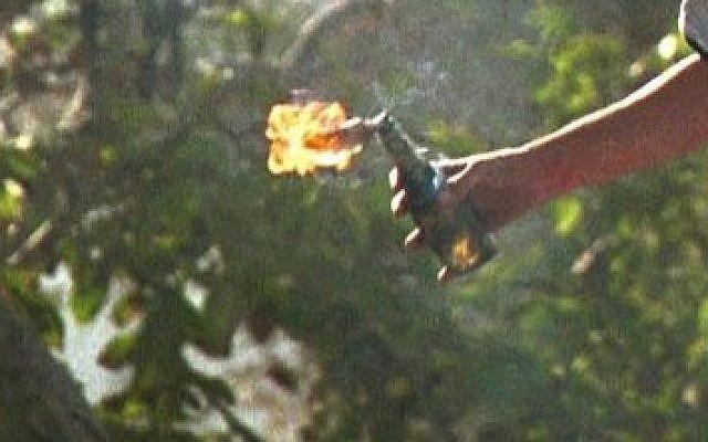 Illustrative photo of a Molotov cocktail (Flash90)