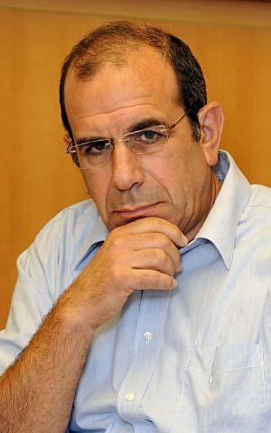 Former Israeli negotiator Gilead Sher (photo credit: Flash90)