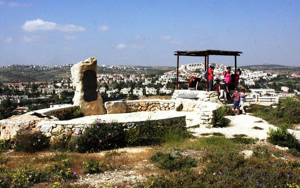 The Kastel overlook (photo credit: Shmuel Bar-Am)