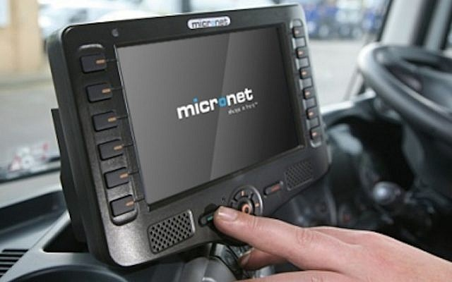 A Micronet mobile data terminal (Photo credit: Courtesy)