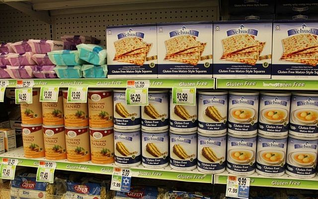 More gluten-free products are available at Passover, and an array of blogs offers recipes on how to use them. (Hillel Kuttler/JTA)