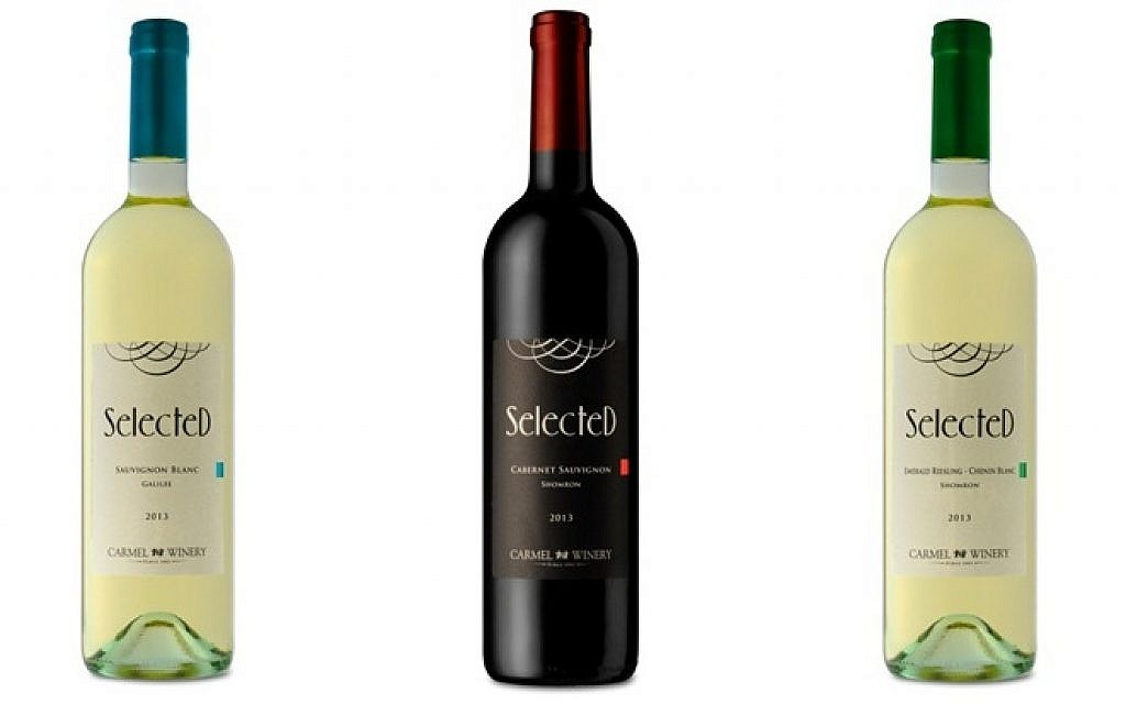 Selected comes in three varietals, all mevushal: Cabernet Sauvignon, Sauvignon Blanc, and Emerald Riesling/Chenin Blanc Blend (photo: Courtesy)