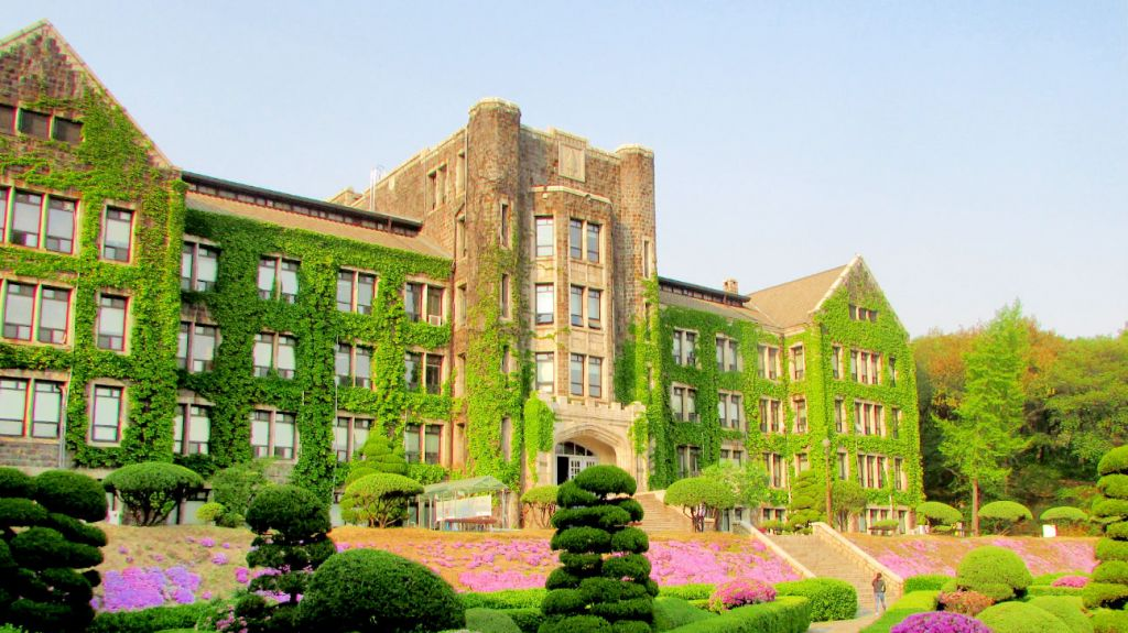 The campus of Seoul's Yonsei University. (photo credit: Debra Kamin/Times of Israel)