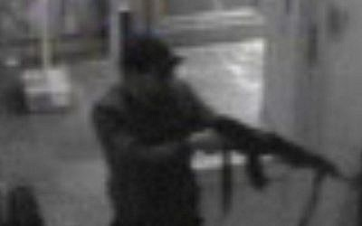 This video grab released shows the suspect of the killings in the Jewish Museum on Belgium on May 24, 2014 in Brussels. (AFP photo/Belga/Belgian Federal Police)