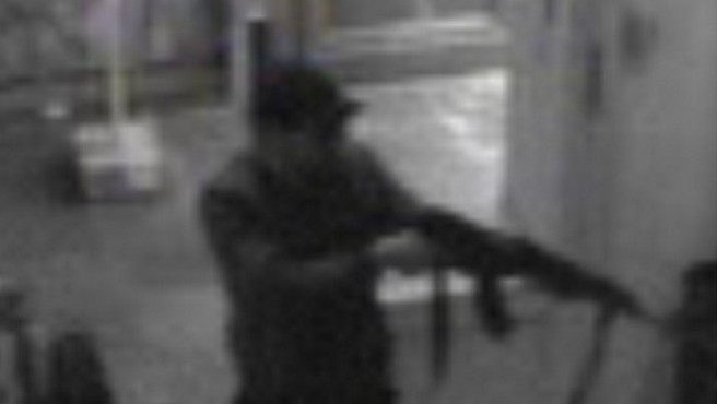 This videograb released on May 25, 2014, by the Belgian federal police on demand of Brussels' king prosecutor, shows the suspect of the killings in the Jewish Museum on May 24,2014 in Brussels. (photo credit: AFP PHOTO/BELGA/BELGIAN FEDERAL POLICE/HANDOUT)