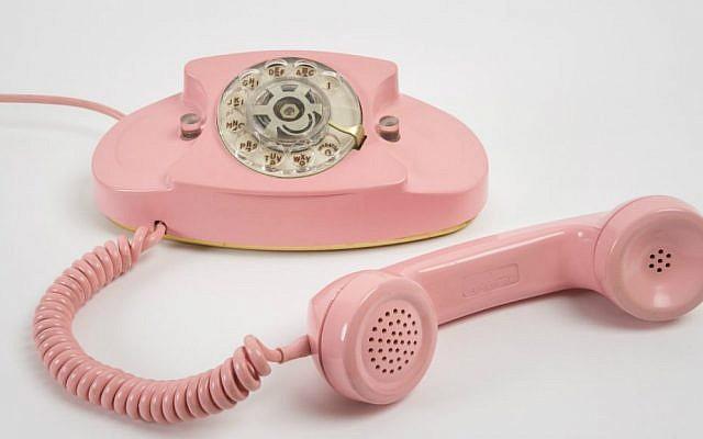 Henry Dreyfuss, Princess Phone, 1959. Photograph: Johnna Arnold.