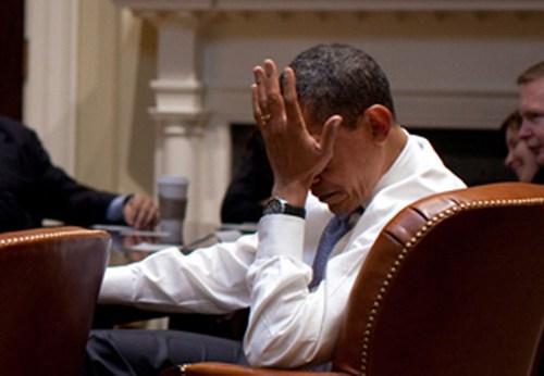 Peres would probably call this a 'palmface.' (photo credit: cheezburger.com)