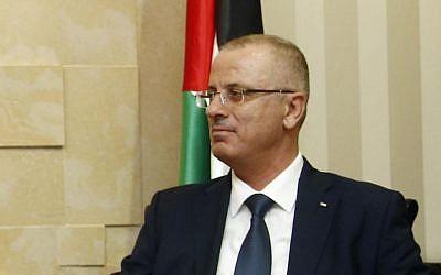 Palestinian Authority Prime Minister Rami Hamdallah (photo credit: CC BY Bundesministerium für Europa, Integration und Äusseres/Flickr)