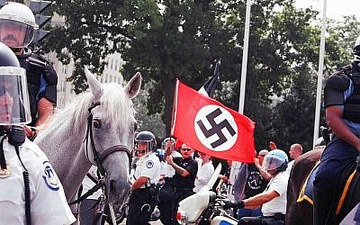 Illustrative image of a neo-Nazi rally (CC BY-Elvert Barnes/Flickr)
