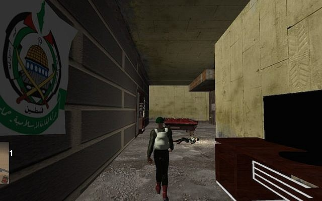 Screenshot of an interactive 3D game being developed by TILT (Photo credit: Courtesy)