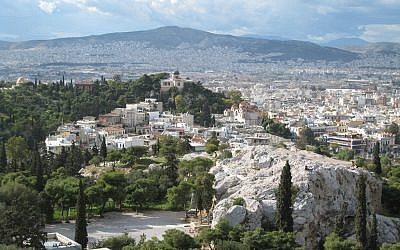 Illustrative photo of Athens (photo credit: CC BY-SA Titanas, Flickr)