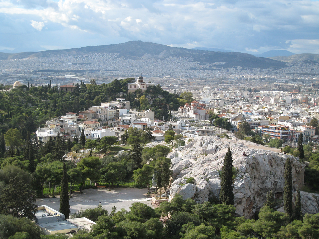 Strong quake hits near Greece's capital Athens